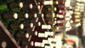 Os vinhos os mais finos (1 de 6) video estoque