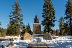 Os visitantes memoráveis do parque estadual de Donner centram-se fotografia de stock royalty free