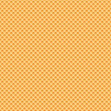 Os waffles modelam a textura sem emenda Imagem de Stock