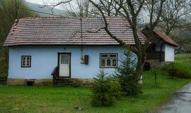 Osadné, Osadne村庄斯洛伐克房子 库存照片