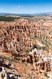 Osadowe skały w Bryka jaru parku narodowym, Utah, usa obrazy royalty free