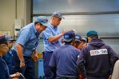 Osaka Środkowy Hurtowy rynek obraz stock
