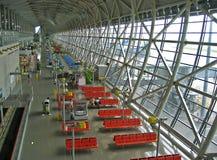 Osaka Airport. Lounge of Osaka Airport stock image