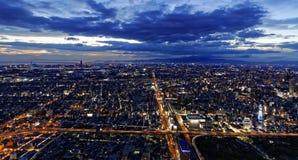 Osaka antena Obrazy Royalty Free