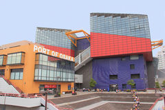 Osaka Aquarium på port av Osaka Arkivfoto