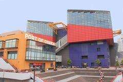 Osaka Aquarium a porto di Osaka Fotografia Stock
