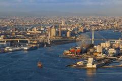 Osaka Bay photographie stock libre de droits