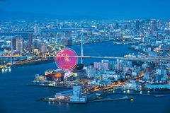 Osaka bay stock photography