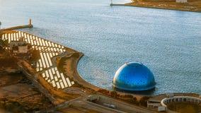 Osaka Bay stock photo
