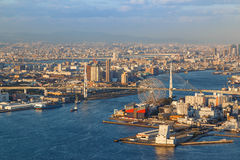 Osaka Bay royalty free stock image