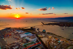 Osaka Bay Royalty Free Stock Photo