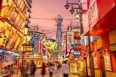 Osaka bei Shinsekai Lizenzfreie Stockfotografie