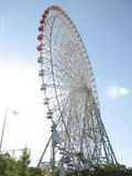 Osaka biggest ferriswheel Royalty Free Stock Images