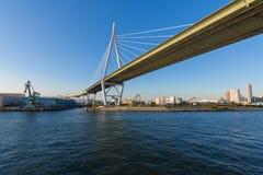 Osaka bro arkivbild