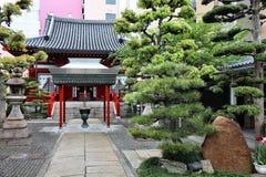 Osaka buddhist temple Stock Image