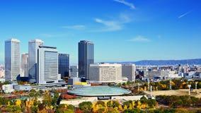 Osaka Business District Fotografia Stock