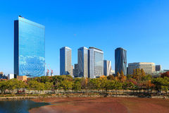 Osaka Business Park in the autumn. Kansai, Japan Stock Photography