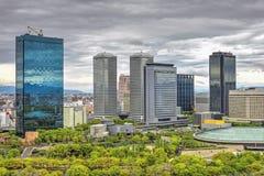 Osaka Business Park, Japón Imagen de archivo