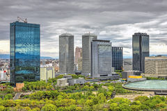 Osaka Business Park, Japan. Osaka Business Park (normally referred to as OBP by the locals) is a business district covering 26 hectares on the site of the former Stock Image
