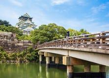 Osaka Castle à Osaka photos stock