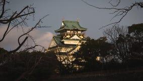 Osaka Castle è un punto di partenza affinchè i turisti installi come destinazione della regione di Kansai Fotografie Stock