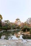 Osaka Castle é um castelo japonês em Osaka, Japão Imagem de Stock
