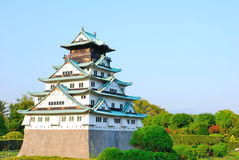 Osaka castle Royalty Free Stock Image