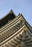 Osaka Castle. Layers of Osaka Castle eaves Stock Images