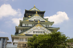 Osaka Castle Royalty Free Stock Photos