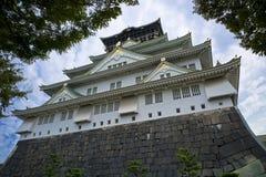 Osaka Castle. Famous Osaka Castle in Japan Royalty Free Stock Photography