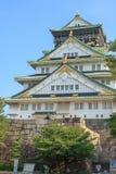 Osaka Castle. During daytime on summer of japan Royalty Free Stock Photo