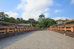 Osaka Castle. During daytime on summer of japan Stock Photos