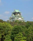 Osaka Castle. During daytime on summer of japan Royalty Free Stock Photography