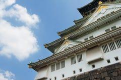 Osaka Castle. Reconstruction of a great castle of famous Hideyoshi at Osaka, Japan Stock Photo