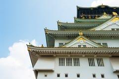 Osaka Castle. Reconstruction of a great castle of famous Hideyoshi at Osaka, Japan Stock Photography
