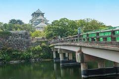 Osaka Castle. Reconstruction of a great castle of famous Hideyoshi at Osaka, Japan Royalty Free Stock Photos