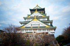 Osaka Castle Royaltyfri Foto
