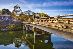 Osaka Castle. In Japan Stock Images
