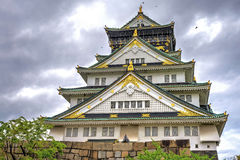 Osaka Castle Royalty-vrije Stock Fotografie