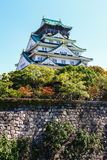 Osaka Castle Fotos de archivo libres de regalías