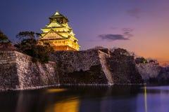 Osaka Castle Lizenzfreie Stockfotografie