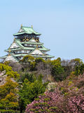 Osaka Castle Image stock