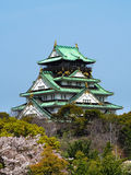 Osaka Castle lizenzfreie stockfotos