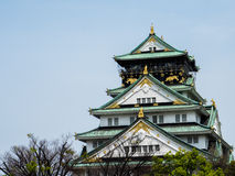 Osaka Castle Photo libre de droits
