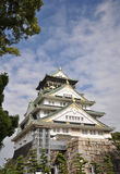 Osaka Castle immagine stock libera da diritti