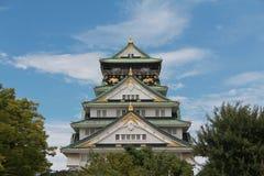 Osaka Castle Image libre de droits