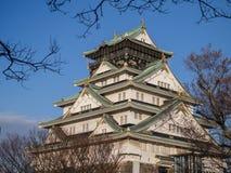 Osaka Castle Fotografie Stock