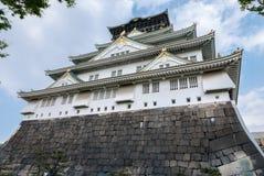 Osaka Castle foto de archivo libre de regalías