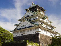 Osaka Castle. Originally called Ozakajō, is one of Japan's most famous defensive fortification Stock Images