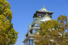 Osaka Castle Royalty Free Stock Images